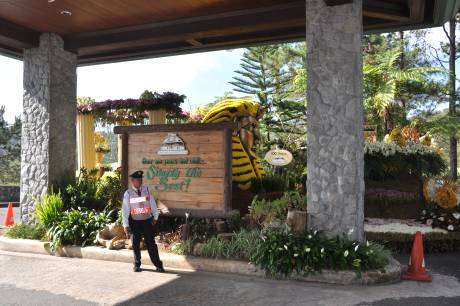 Baguio Country Club Entrance