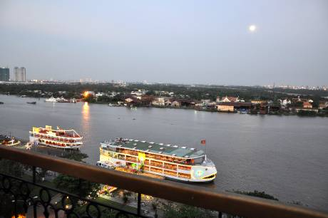 New Floating Restaurants Viewed From Majestic Hotel