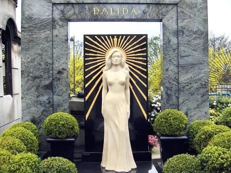 Dalida Tomb