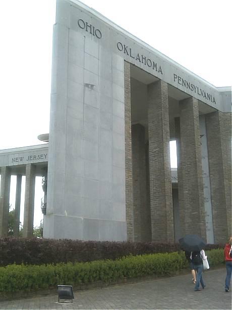 Monument at Bastogne - Battle of the Bulge