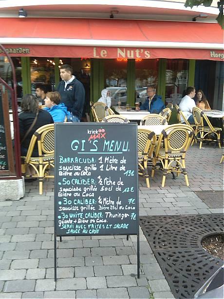 Le Nut's Bar in Bastogne.