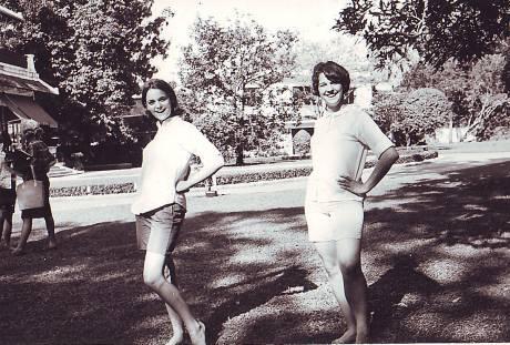 Mary Kay and Stevie Cheering