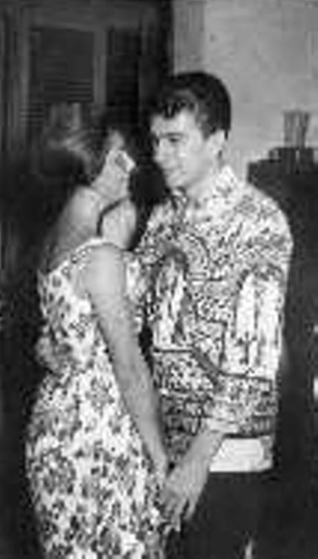 Alain Jacquemin and Francoise dancing