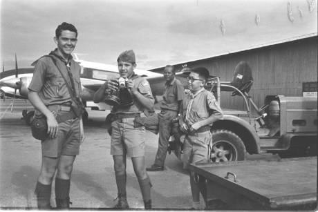 American Boy Scouts at Nha Trang
