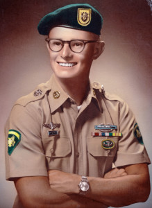 Saigon Kid Alan E. Kent - Brent School Class of 1961. U. S. Army Special Forces