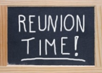 Reunion Time Sign