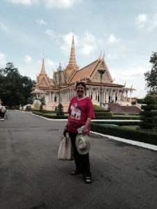 Cathie McIntyre. Phnom Penh, Cambodia Circa June 2014.