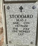Franks brother Silas John Stoddard grave stone