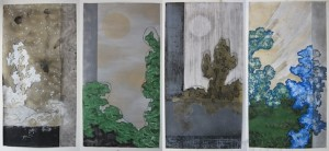 The Four Seasons by artist Richard Turner.