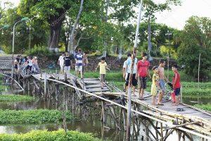 Old Bridge Hue Vietnam